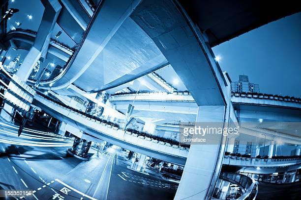 overpass of shanghai