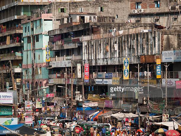 Overpopulation and pollution problems in Dhaka city Bangladesh capital