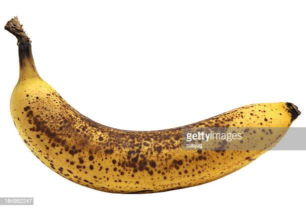 overripe banana - brown stock pictures, royalty-free photos & images