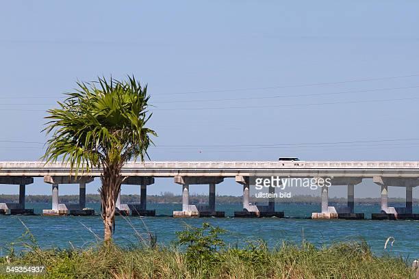 Overseas Highway across the Florida Keys Florida USA