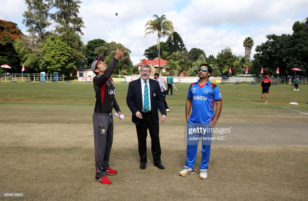 UAE v Afghanistan - ICC Cricket World Cup Qualifier