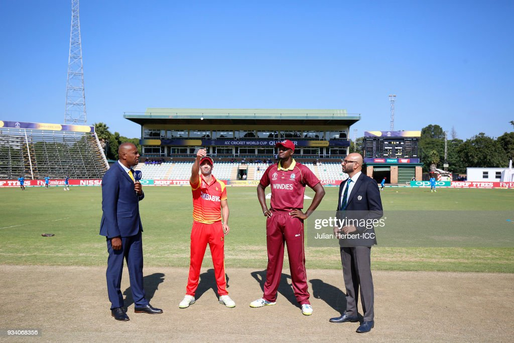 West Indies v Zimbabwe - ICC Cricket World Cup Qualifier
