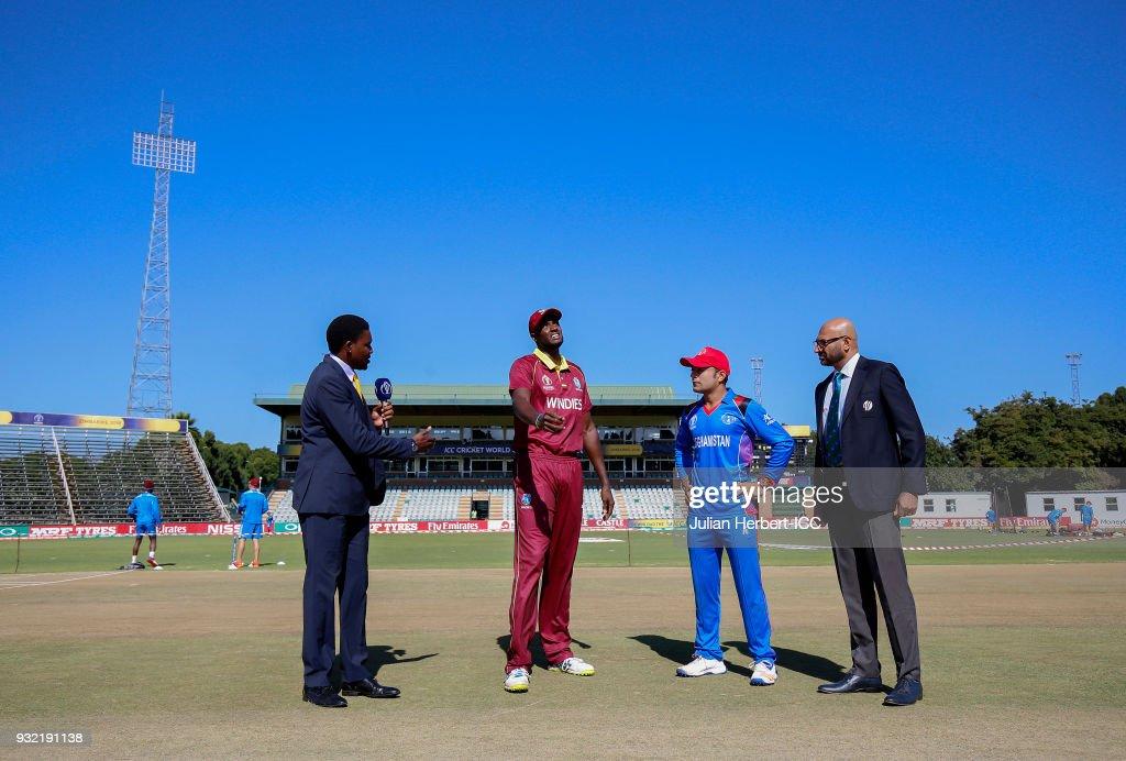 West Indies v Afghanistan - ICC Cricket World Cup Qualifier