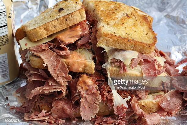 Oversize slicedmeat sandwiches have long been the purview of the New York delicatessen but there's something particularly fitting about a restaurant...