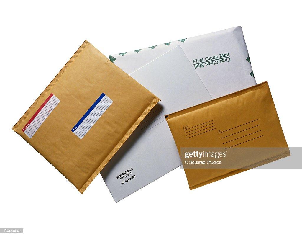 Oversized Envelopes : Foto de stock