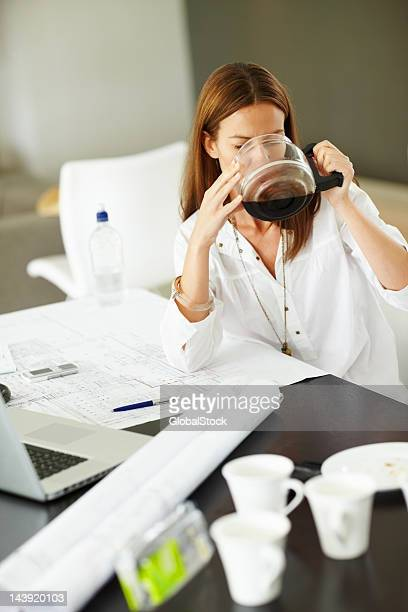 Over-stressed and having coffee