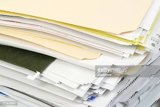 Overstuffed File Folders