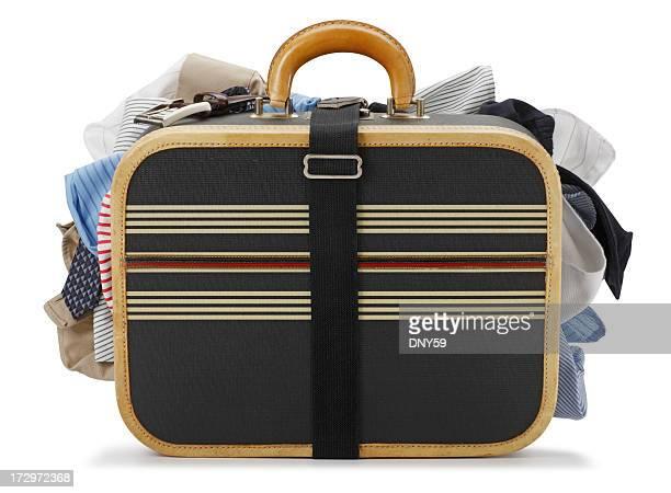Overstuffed Luggage
