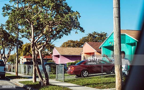 Overtown distrito de Miami.