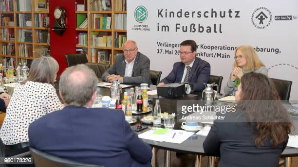 overview at DFB Headquarter on May 17 2018 in Frankfurt am Main Germany