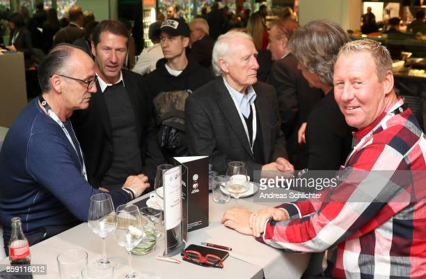 Overview at the club of former national players meeting prior to / after the FIFA 2018 World Cup Qualifier between Germany and Azerbaijan at...