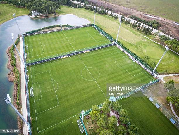 Overview before the friendly match between VfB Stuttgart and Hannover 96 on January 13 2016 in Belek Turkey