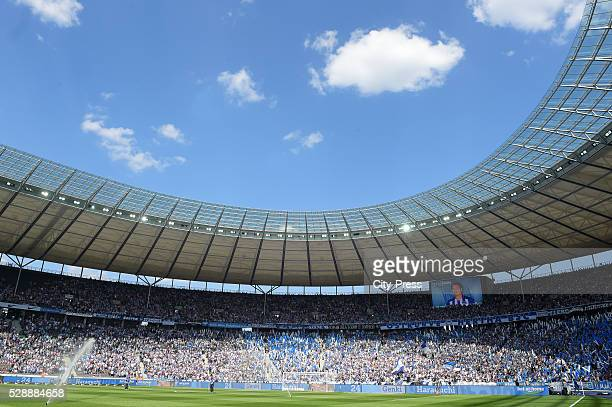 Overview before the game between Hertha BSC and SV Darmstadt 98 on may 7 2016 in Berlin Germany