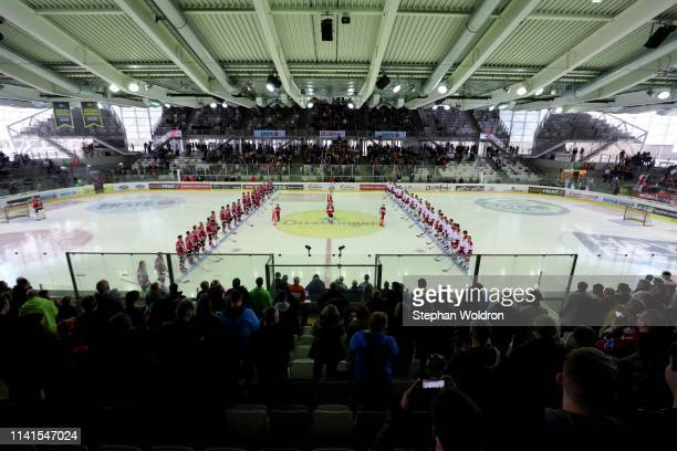 Overview during the Austria v Denmark - Ice Hockey International Friendly at Erste Bank Arena on May 5, 2019 in Vienna, Austria.