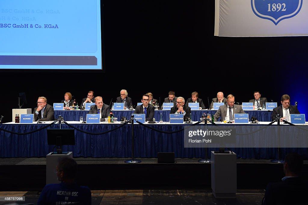 Hertha BSC - regular general meeting : News Photo