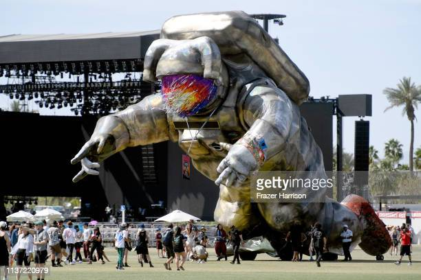 Overview Effect is seen during the 2019 Coachella Valley Music And Arts Festival on April 14 2019 in Indio California