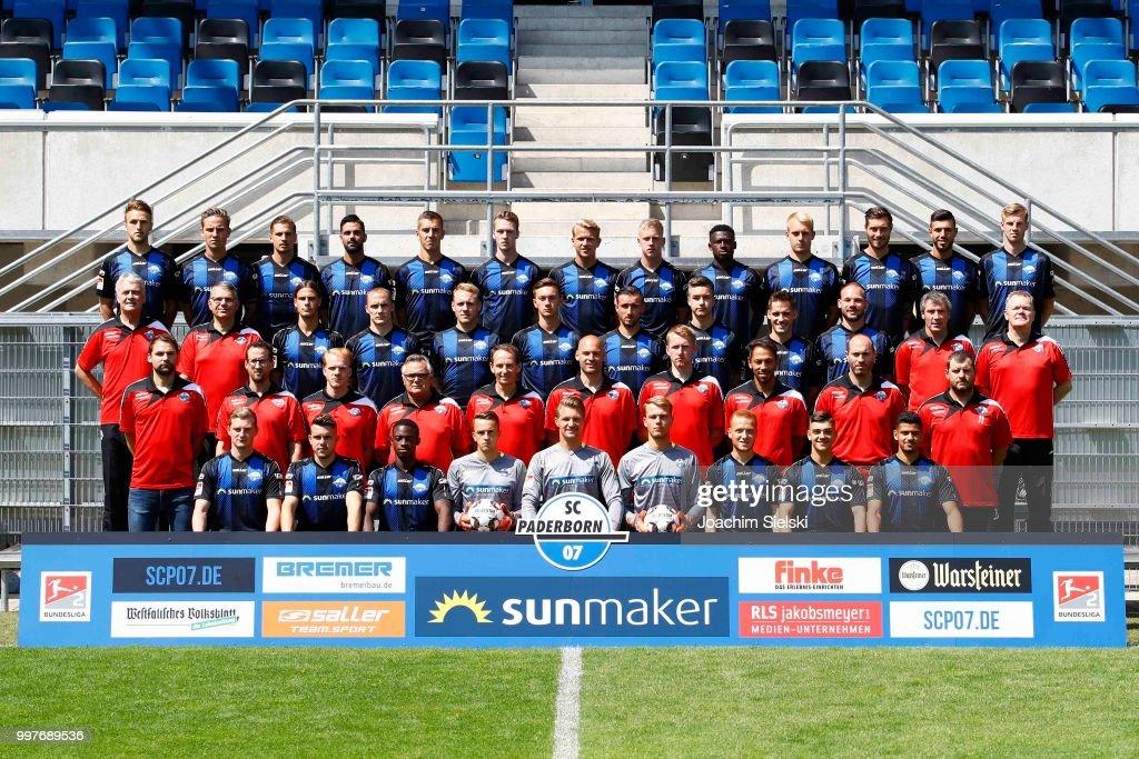 SC Paderborn - Team Presentation : News Photo
