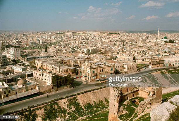 Overview of Aleppo, Syria