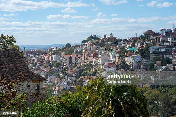 Overview of Antananarivo, the capital city of Madagascar.