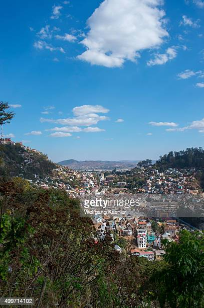 Overview of Antananarivo the capital city of Madagascar