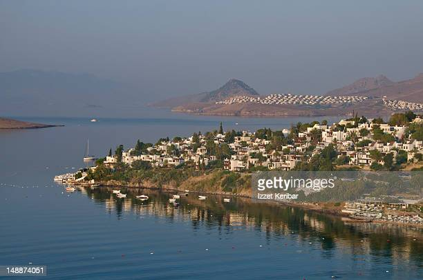 Overview of Bodrum and Aktur villages.
