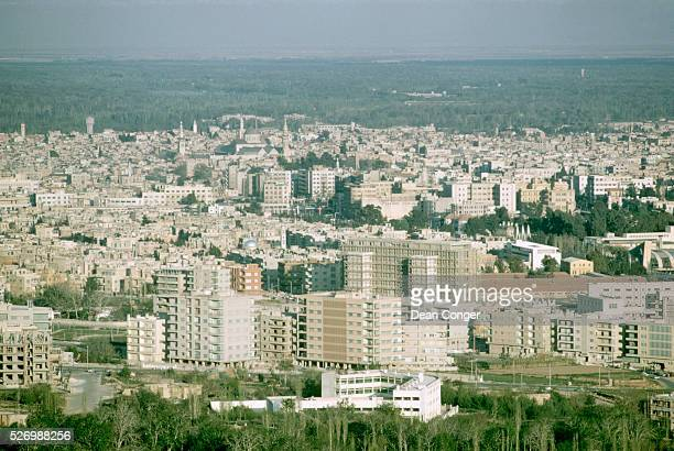 Overview of Damascus Syria in 1965