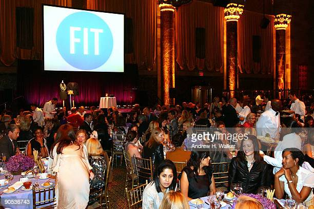 Overview of FIT's 4th Annual Artstry Of Fashion Award Luncheon during Mercedes-Benz Fashion Week Spring 2010 at Cipriani 42nd Street on September 9,...