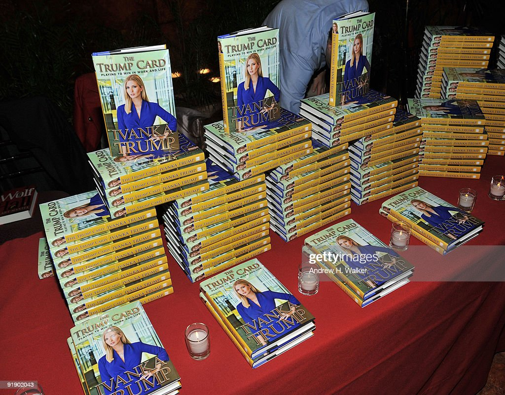'The Trump Card: Playing To Win In Work And Life' Book Launch Celebration : News Photo