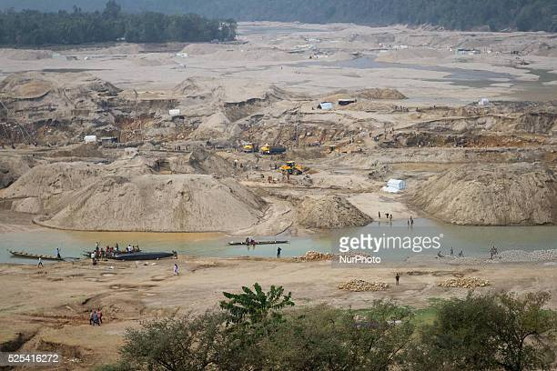 Overview of Jaflong stone extraction area in Sylhet Bangladesh on February 28 2015 Sylhet is a very resourceful place of Bangladesh in minerals...