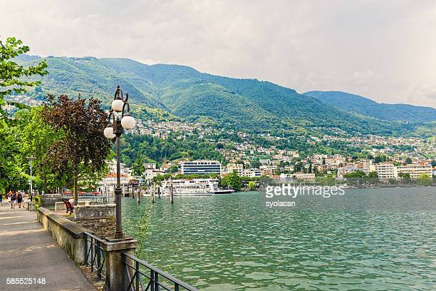 overview of locarno - syolacan stock pictures, royalty-free photos & images