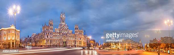 Overview of Madrid night.