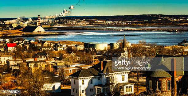 overview of saint-john city - khanh ngo stock pictures, royalty-free photos & images
