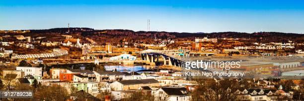 Overview of Saint-John city