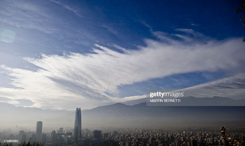 FBL-COPAM2015-CHILE-FEATURE-POLLUTION : News Photo