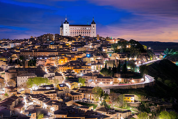 Overview Of The City Of Toledo In Spain Wall Art