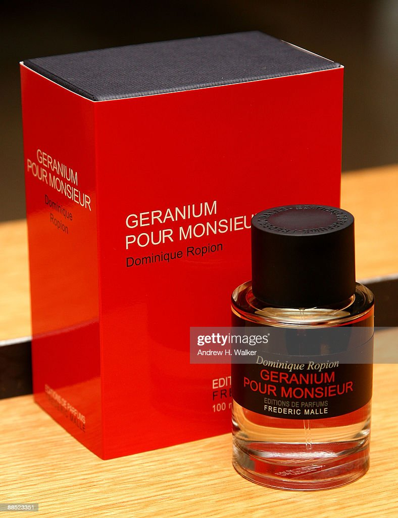 Frederic Malle Launches New Fragrance Geranium Pour Monsieur : News Photo