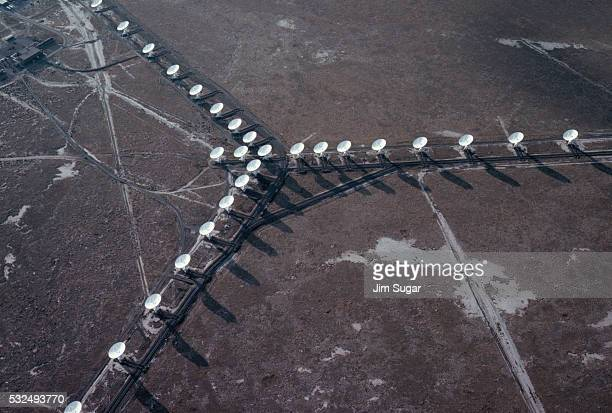 overview of the very large array - national radio astronomy observatory stock pictures, royalty-free photos & images