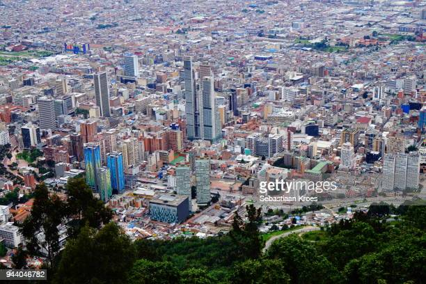 Overview on the Skyscrapers of Bogota, Colombia