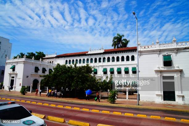 Overview on the Superior Tribunal of Cartagena, Cartagena, Colombia