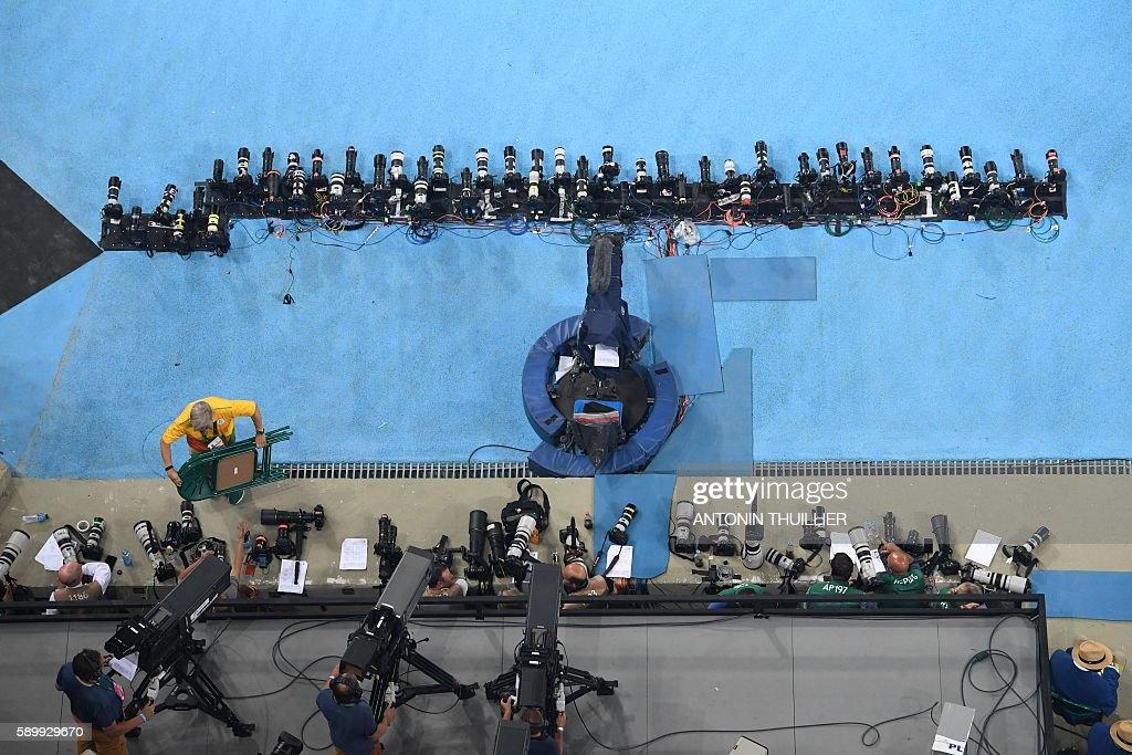 OLY-2016-MEDIA-PHOTOGRAPHERS : News Photo
