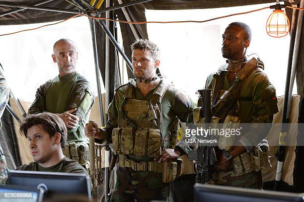 SHOOTER 'Overwatch' Episode 104 Pictured Ryan Phillippe as Bob Lee Swagger Rob Brown as Donny Fenn