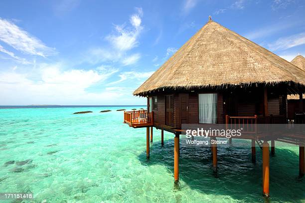 Overwater-Bungalow at the maldives