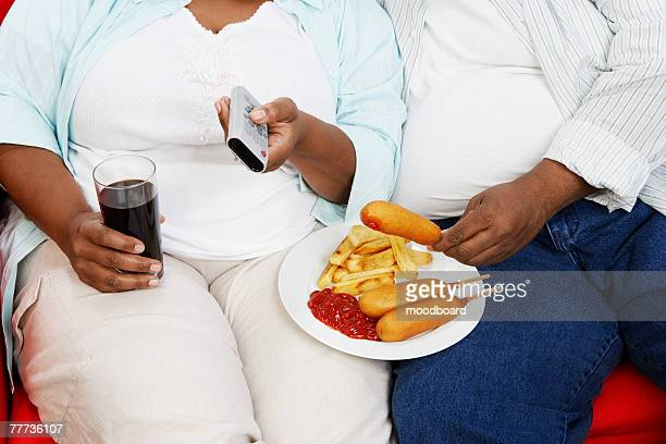 Overweight Couple