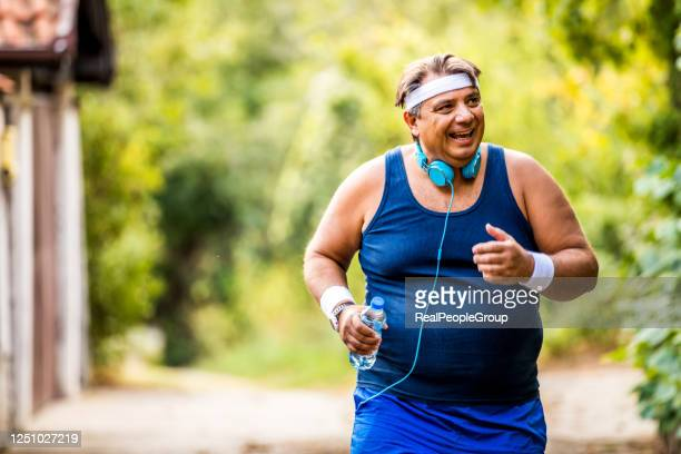 2 129 Overweight Running Photos And Premium High Res Pictures Getty Images