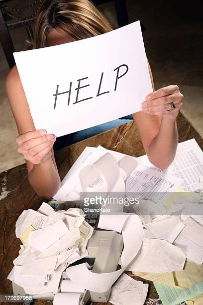 Overwhelmed Woman needs HELP with Budget and Taxes