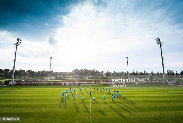 overwiev during the winter training camp of Hertha BSC on January 10 2016 in Belek turkey