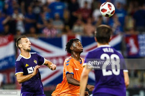 Ovie Ejaria of FC Rangers in action during 2nd Leg football match between NK Maribor and Rangers FC in 3rd Qualifying Round of UEFA Europa League...