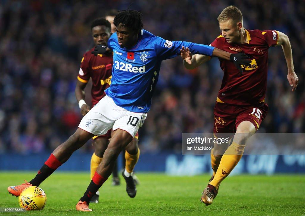 Rangers v Motherwell - Ladbrokes Scottish Premiership : News Photo