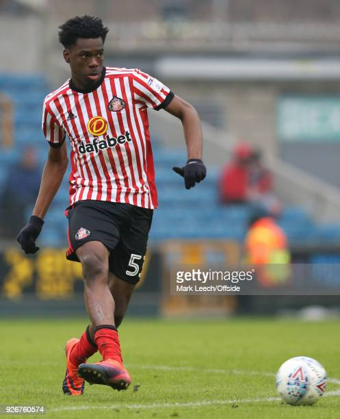 Ovie Ejaria of Sunderland during the Sky Bet Championship match between Millwall and Sunderland at The Den on March 3 2018 in London England
