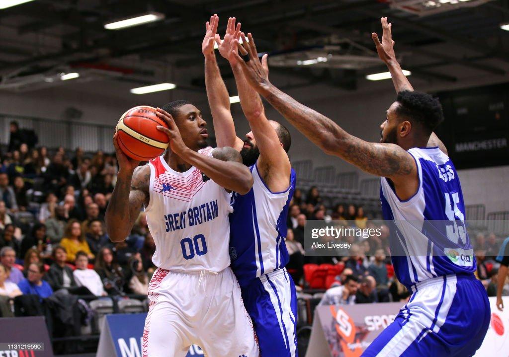 GBR: Great Britain v Cyprus - FIBA EuroBasket Senior Men 2021 Pre-Qualifier